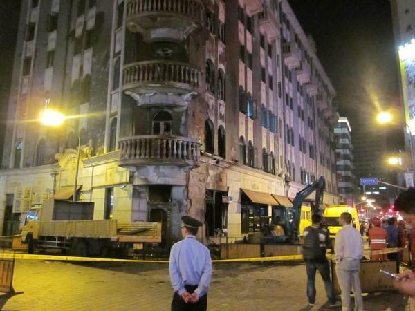 Zeuge einer Gas-Explosion in Shanghai