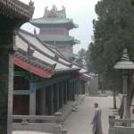 Ein Mönch im Shaolin Tempel