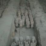 Die berühmte Terrakotta-Armee in Xi'an