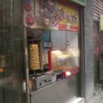 Dönerspieß im muslimischen Viertel in Xi'an