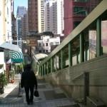 Die längste Rolltreppe der Welt in Hongkong