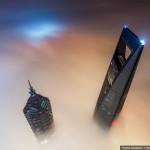 Grandiose Bilder vom höchsten Gebäude Chinas (Shanghai Tower)