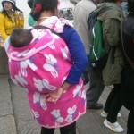 Ein typischer Kinder-Rucksack