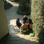 Spielende Chinesen