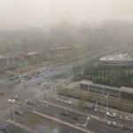 Sandsturm in Beijing