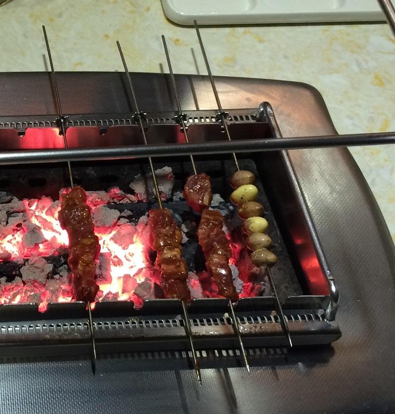 Ginkgo Samen im Koreanisches Restaurant