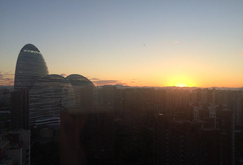 Ausblick auf Beijing