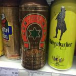 Deutsches Bier im Chinesischen Supermarkt