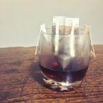 Kaffee mit Filterbeutel