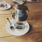 Vietnamesischer Kaffee im Restaurant
