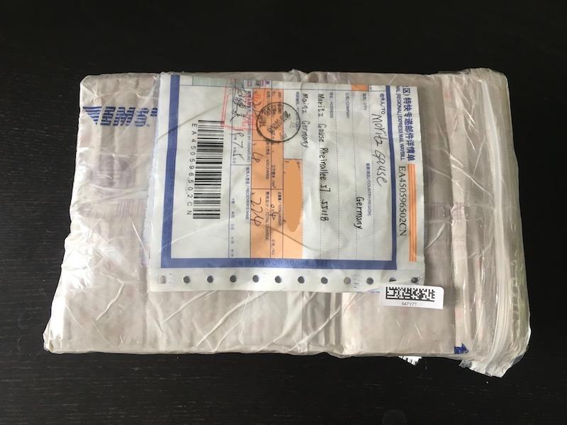 Selbstverzollung von Paketen aus China (EMS und GdSK)